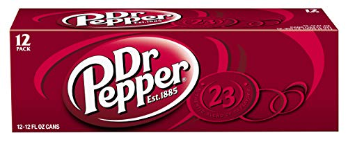 Dr Pepper, 12 PK, 12 Fl oz Cans