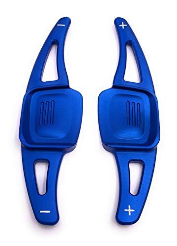 H-Customs DSG Schaltwippen Shift Paddle kompatibel mit Golf 7 (nicht GTI R GTD) Arteon Golf 8 T-Rock Blau