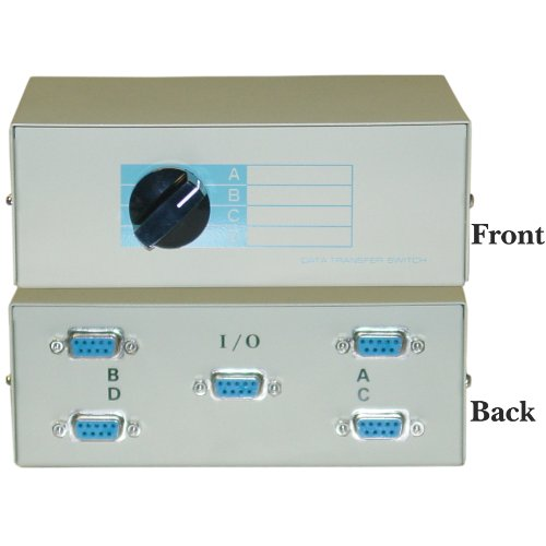 ABCD 4 Way Switch Box, DB9 Female