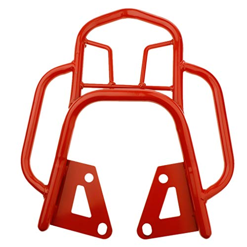 balikha Mountain Bike Seat Post Motorcycle Luggage Carrier for Grom MSX125 - Red