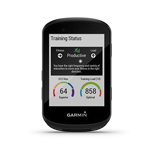 """Garmin Edge 530 – GPS-Fahrradcomputer mit 2,6"""" Farbdisplay, umfassenden Leistungsdaten, vorinstallierter Europakarte zur Navigation & bis zu 20 h Akkulaufzeit, MTB-Kennzahlen & Smart Notifications"""