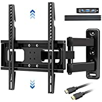 Blue Stone Full Motion TV Wall Mount Bracket with Level & Height Adjustment
