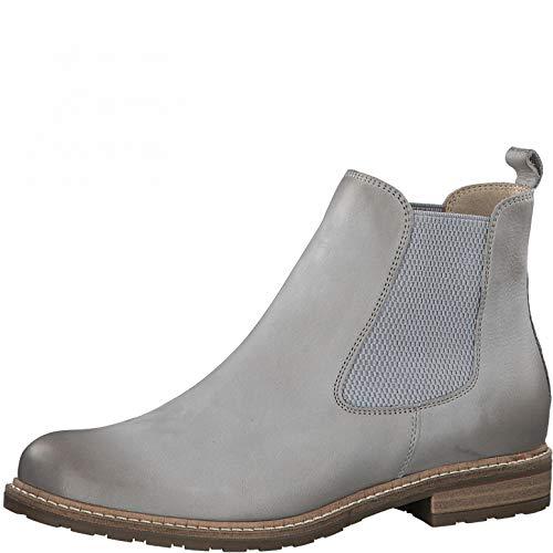 Tamaris Damen Chelsea Boots grau 40