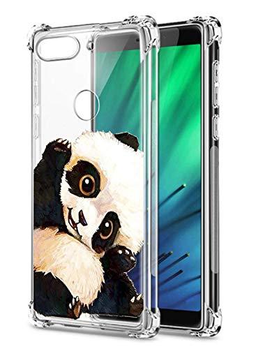 Oihxse Transparent Silicone Mignon Case Compatible pour Xiaomi Redmi K20/K20 Pro Coque TPU Souple Ultra Mince Housse Clear Crystal Design Motif Anti-Scrach Protection Etui Bumper (A14)