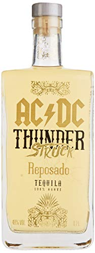 AC/DC Thunderstruck Tequila AC/DC Thunderstruck REPOSADO Tequila de Agave Tequila (1 x 0.7 l)