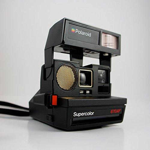 Polaroid Sun 670AF - Cámara instantánea de enfoque automático
