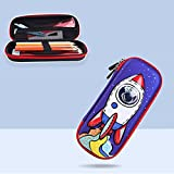 3D Space cute pencil case School Stationery box plastic Cartoons Pencil cases for kids pen case gifts student pen box...