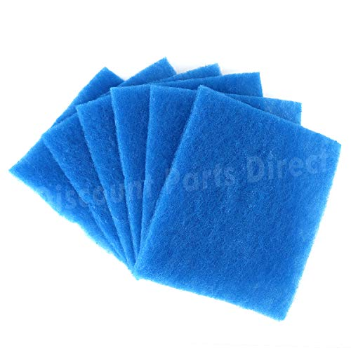 6 Pack Replacement Polyester Filters Compatible for the BetterVent Indoor Dryer Vent