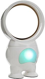 Northwest Trademark 72-HE519 TG USB Powered Robo Bladeless Fan with Light, 11-Inch, White