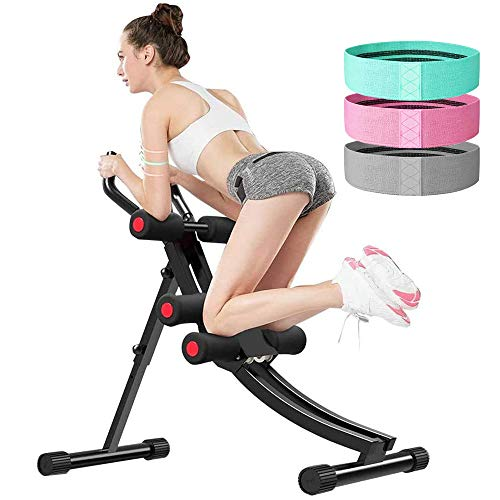 ZXMT Abdominal Machine Fitness Ab Trainers Exercise Workout Equipment for Home Gym Abdominal Stimulator