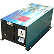4000W LF Pure Sine Wave Power Inverter DC 12V to AC 110V 60HZ with LCD
