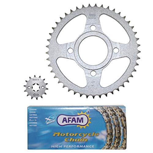 AFAM - chain kit suitable for DAELIM 125 ROADWIN 2004-2010 for sale  Delivered anywhere in UK