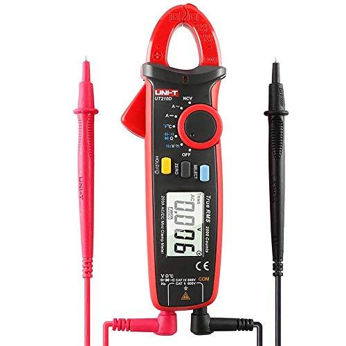 UNI-T UT210D Digitale Strommesszange AC/DC, Messgerät für Strom, Spannung, Widerstand, Kapazität.