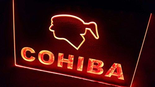 COHIBA CIGARS Leuchtschild LED Neu Schild Laden Reklame Neon Neonschild