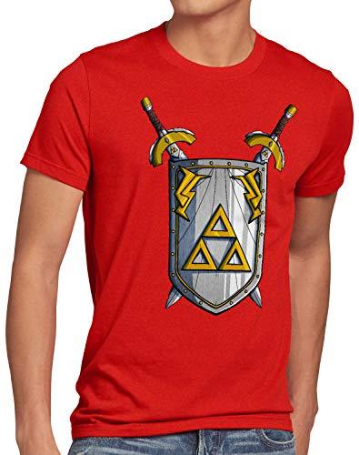 style3 Link to The Past Espada Camiseta para Hombre T-Shirt Hyrule SNES NES