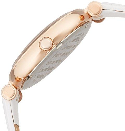 [フォリフォリ]腕時計LADYBUBBLEクォーツ式レザーウォッチSWF16R009SPS-WH正規輸入品ホワイト