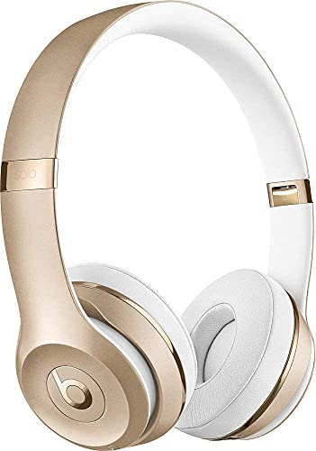 Beats Solo3 Wireless On-Ear Headphones - Gold (Refurbished)