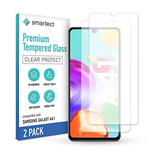 smartect Pellicola Protettiva per Samsung Galaxy A41 [2 Pezzi] - 9H Vetro Temperato – Design Ultra Sottile – Applicazione Anti-Bolle – Anti-Impronte