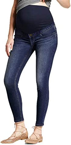 Hybrid Company Super Comfy Stretch Women s Skinny Maternity Jeans PM5471GRSK Darkwash S product image