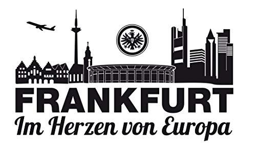 Eintracht Frankfurt Wandtattoo Im Herzen von Europa