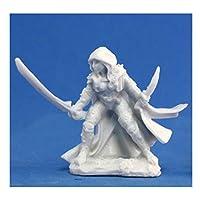 Reaper Miniatures 77035 Bones - Deladrin, Female Assassin