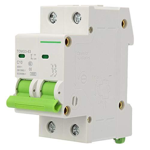 Disyuntor, interruptor de corriente, interruptor de aire de protección contra fugas de disyuntor miniatura tipo C 2P TOMG3-63(16A)