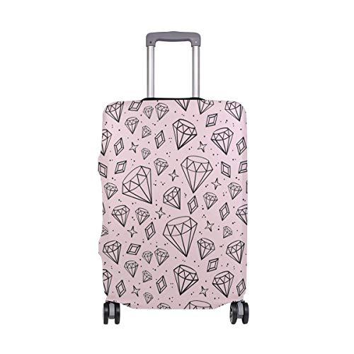 Maleta con Ruedas giratorias para viajeros de Pink Diamonds Travelers Choice Maleta con Equipaje de 20 Pulgadas