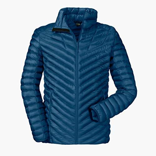 Schöffel Herren Thermo Jacket Val d Isere3 gesteppte Thermojacke mit hochschließendem Kragen, wärmende und atmungsaktive Skijacke