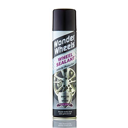 Wonder Wheels Wheel Sealant 300ml - Repels Brake Dust, Dirt & Grime