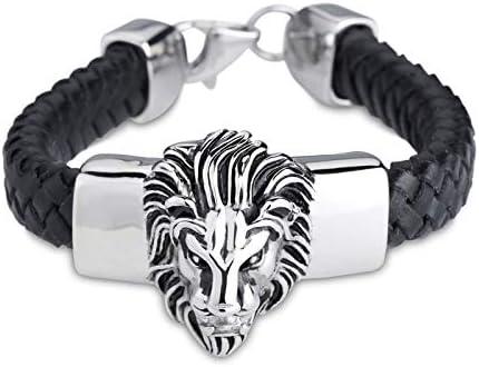 KTS Hot Sale Bracelet Max 83% OFF Alternative dealer Chain Steel Polished Black Stainless Leath
