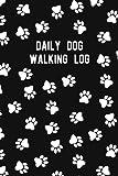 Diario para caminar de perro: un diario para...