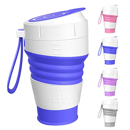 Water Bottle Washing Cup Drinking Cup For Travel Camping Rinse Cup Folding Cup