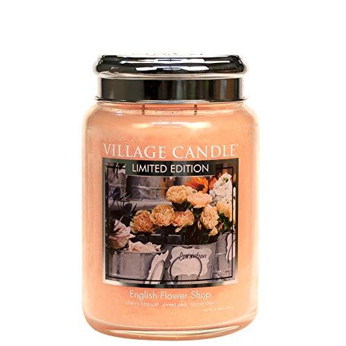 Village Candle - Duftkerze - Kerze - Tradition - English Flower Shop - 626g - Limited Edition