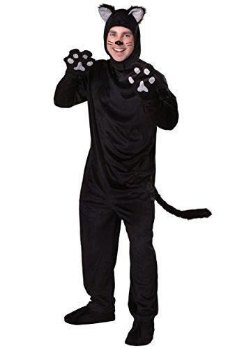 Adult Black Cat Costume Standard