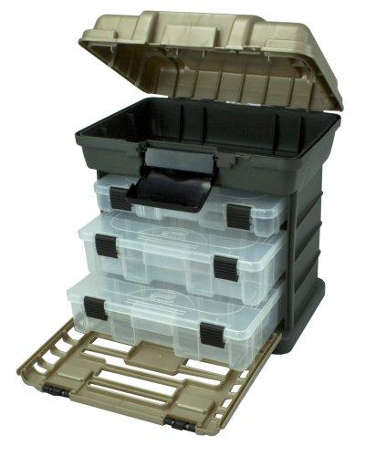 Plano 136330 3段トレー付工具箱 グレー 深