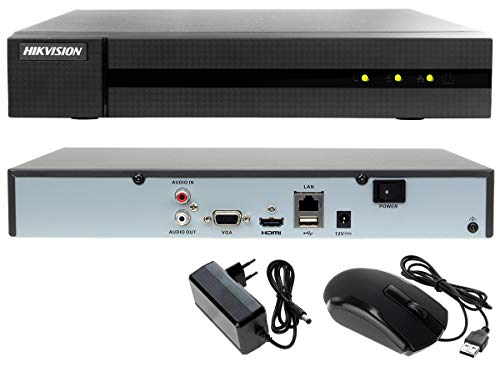 Hiwatch Hikvision Nvr 8 Ip 80 Mbps 1 Hdd 4K