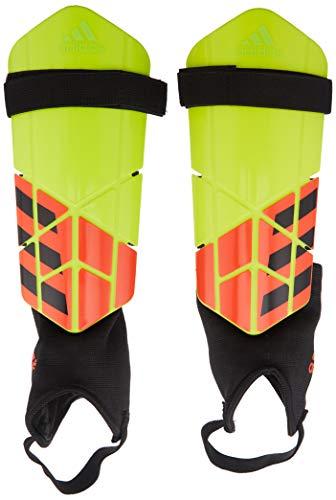 adidas X Club Shin Guards, Solar Yellow/Solar Red/Black, X-Large Adidas Red Shin Guard