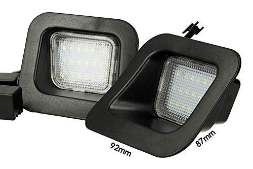 Kit LED-kentekenverlichting 12 V 3 W weerstand inclusief wit