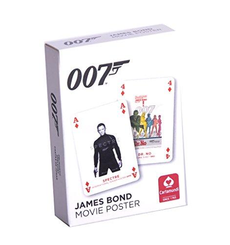 James Bond 007 - Bond Filmplakate Spielkarten