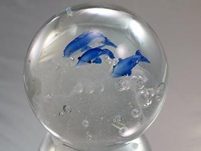 M diseño arte Handcraft glassrainbow burbuja de cristal pisapapeles [cocina]