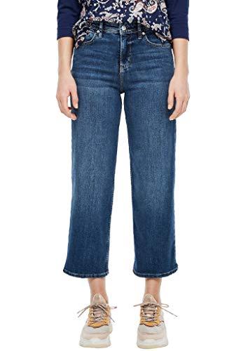 s.Oliver Damen Hose Jeans, 58Z5 dark steel blue de, 38