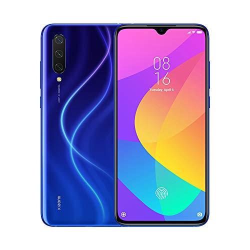"""Xiaomi Mi 9 Lite – Smartphone con pantalla AMOLED FullHD de 6,39"""" (Qualcomm SD710 2.2GHz, triple cámara de 48 + 8 + 2 MP y selfie de 32MP, NFC, 4030 mAh, 6GB+64GB)color azul boreal [Versión española]"""