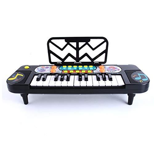 HEWE Toy Piano, Niños Juguete Musical De 25 Teclas De Música Digital del Teclado De Piano Electrónico De Plástico De Calidad Los Instrumentos De Música, Adecuado para La Educación De Los Niños