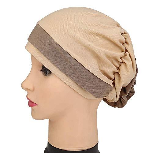 MOCHENG Blumenturban für Damen, Haar-Accessoires, elastisches Tuch Haarbänder, Mütze Chemo-Beanie für Damen