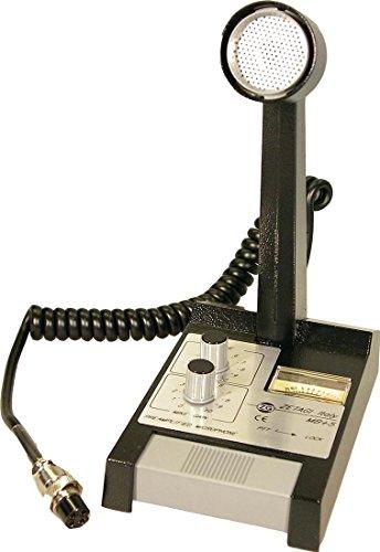 Zetagi MB + 5 Base micrófono Radio de banda ciudadana