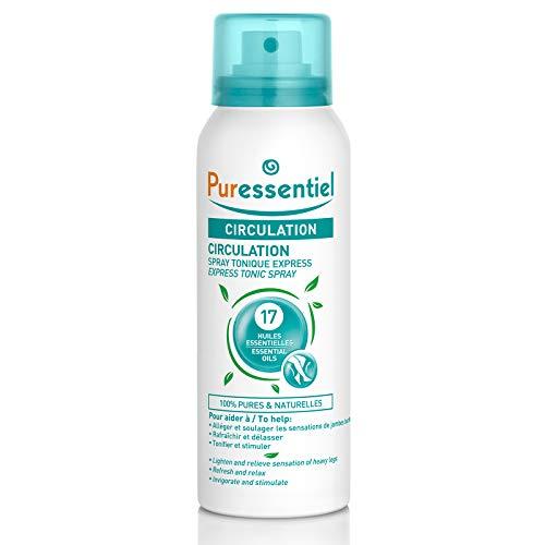 Puressentiel Circulation Spray tonico 17 aceites, 100 ml