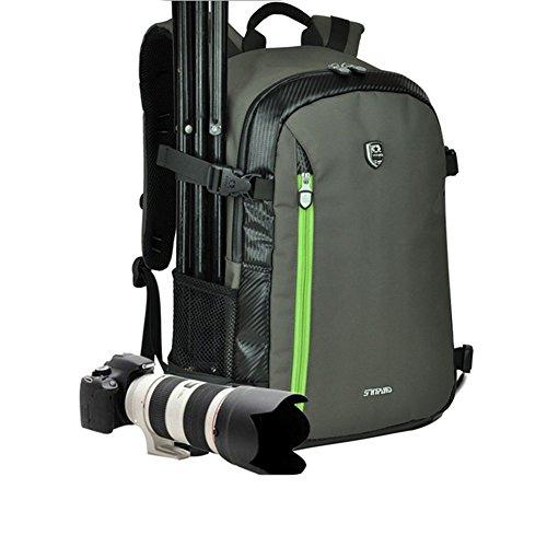 YAAGLE Rucksack Gepäck 700 D wasserdicht SLR Kameratasche Schultertasche Reisetasche -grün