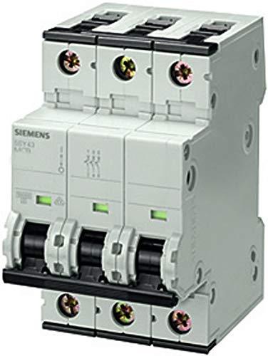 Siemens 5SY4316-6 Leitungsschutzschalter 400V 10kA, 3-polig, B, 16A, T=70mm 4001869181776