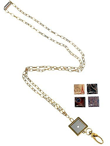 Boojee Beads Python BooJee Ribbon ID Lanyard /& ID Badge Holder