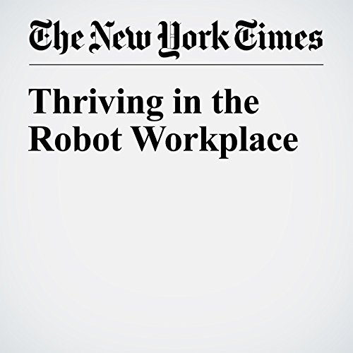 Thriving in the Robot Workplace audiobook cover art